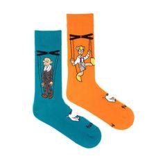 Fusakle Veselé ponožky Spejbl a Hurvínek (--1105)