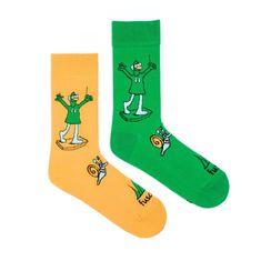 Fusakle Veselé ponožky Jú a Hele (--0990)