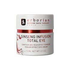 Erborian Rozjasňující krém na oční okolí Ginseng Infusion Total Eye (Tensor Effect Eye Cream) 15 ml