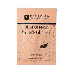 Erborian Rozjasňující pleťová maska BB Shot Mask (Face Sheet Mask) 14 g