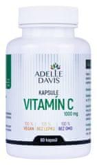 Adelle Davis Vitamín C 1000 mg, 60 kapsúl