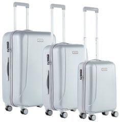 CARRY ON Sada kufrov Skyhopper Silver 3-set