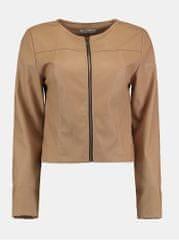 Haily´s béžová krátká koženková bunda