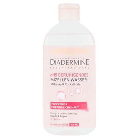 Diadermine Nyugtató micellás víz pH5 400 ml