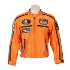 BOS Letní moto bunda BOS 6488 oranžová Velikost: Barva oranžová, Velikost M