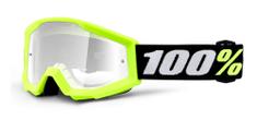 100% Lin brýle Strata MINI, 100% dětské (žlutá, čiré plexi)
