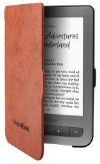 PocketBook Pouzdro PocketBook Shell Cover JPB626(2)-LB-P HNĚDÉ pro Pocketbook 614, 615, 624, 625, 626