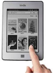 Amazon Kindle Touch D01200 - bez reklam, šedý - 4 GB, WiFi+3G