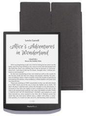 PocketBook HPBPUC-1040-BL-S pouzdro Sleeve pro Pocketbook 1040 InkPad X - černá / žlutá, typ sleeve