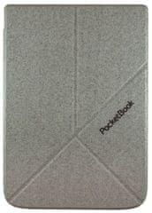 PocketBook HN-SLO-PU-740-LG-WW pouzdro Origami pro Pocketbook 740 - stojánek, světle šedé