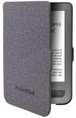 PocketBook Pouzdro PocketBook Shell Cover JPB626(2)-GL-P ŠEDÉ pro Pocketbook 614, 615, 624, 625, 626