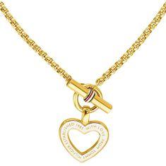 Tommy Hilfiger Dámský pozlacený náhrdelník se srdcem TH2780157