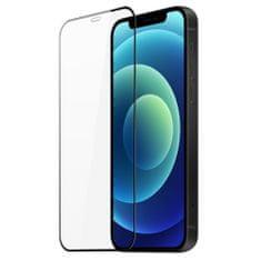 Dux Ducis All Glass Full Coveraged ochranné sklo na iPhone 12 mini, čierne