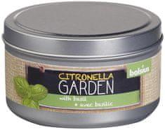 Bolsius Sviecka bolsius Jar Citronella, bazalka