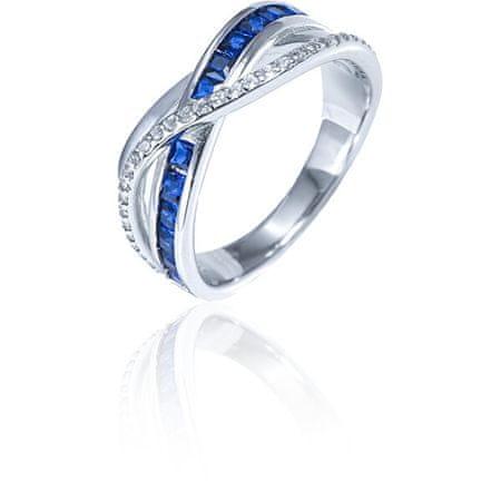 JVD Fényűző ezüst gyűrű cirkónium kővel SVLR0340XH2MB (Kerület 54 mm) ezüst 925/1000