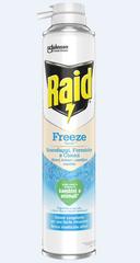 Raid sprej proti žuželkam in zajedavcem Freeze, 350 ml