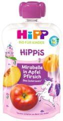 HiPP BIO Hippis Jablko-Broskyňa-Mirabelka 6 x 100g