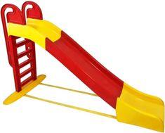 Doloni tobogan, 243 cm, crveno-žuti