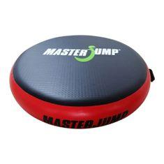 Masterjump Airspot odrazový mostík priemer 100 x 20 cm - čierna - červená