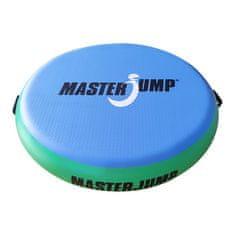 Masterjump Airspot odrazový mostík priemer 100 x 20 cm - modrá - zelená