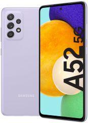 Samsung smartfon Galaxy A52 5G, 6GB/128GB, Lavender