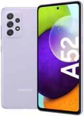 SAMSUNG Galaxy A52, 6 GB/128 GB, Lavender