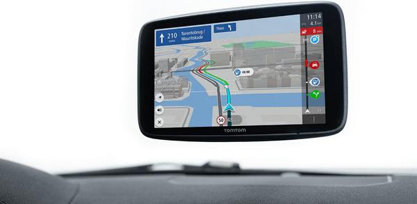Nawigacja GPS TomTom GO Discover - mapy świata, szybsze aktualizacje map, ekran dotykowy TomTom, rozdzielczość HD, Wi-Fi, sterowanie głosowe, bluetooth, konstrukcja 3D, przekątna 7 cali, potężny głośnik, szybki procesor, wskazówki dotyczące pasa ruchu