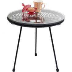 KARE Odkládací stolek Acapulco Black