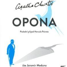 Christie Agatha: Opona - Poslední případ Hercula Poirota - MP3-CD