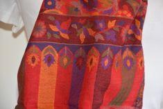 Orient House Exkluzívni Khani vlnený šál 8 rozmer 70x200cm z Kašmíru