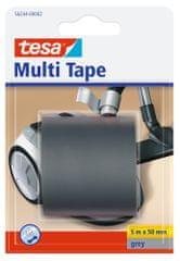 Tesa tesa®Multitape, univerzální opravná PVC páska, šedá, 5m x 50mm