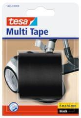 Tesa tesa®Multitape, univerzální opravná PVC páska, černá, 5m x 50mm