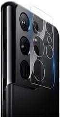 Nillkin InvisiFilm AR Camera Ochranný Film 0.22mm pro Samsung Galaxy S21 Ultra 57983102339, čirý