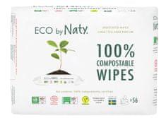 ECO by Naty ECO Vlhčené ubrousky bez vůně - pro citlivou pokožku (3x56 ks)