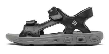 Columbia sandale za dječake Techsun Vent X 1594631010, 39, crne