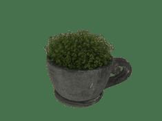 Netuctovky Květináč- betonový hrnek - velký