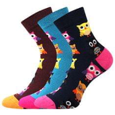 Lonka Veselé dámské ponožky Dedot mix D 3 páry