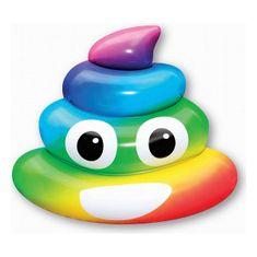 Helieli Napihljiva blazina Rainbow Poo