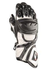 AKITO Moto rukavice SPORTMAX L biele