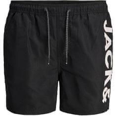 Jack&Jones Moške plavalne kratke hlače JJIBALI 12183806 Black