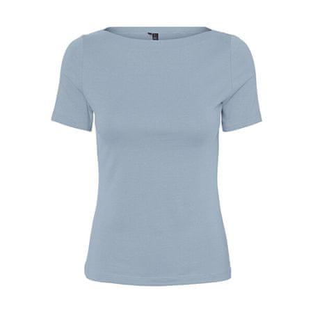 Vero Moda Női póló VMPANDA 10231755 Blue Fog (Méret XS)