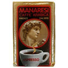 Manaresi Italian Espresso, mletá káva