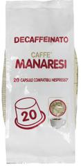 Manaresi kávové kapsle pro Nespresso přístroje, bez kofeinu