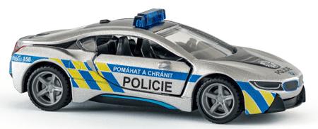 SIKU Super BMW i8 LCI policijski automobil, češka verzija