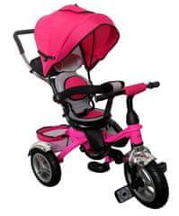 R-Sport Večnamenski tricikel 3v1 T3 Pink barve
