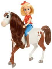 Mattel Spirit lutka in konj Abigail in Boomerang