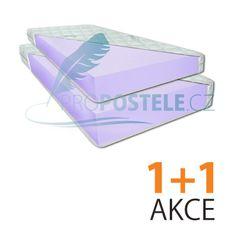 proPOSTELE Matrace Pur 20 cm 1+1 80 x 200 cm
