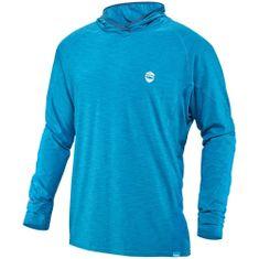 NRS H2Core Silkweight voda/UV Hoodie muška majica Fjord