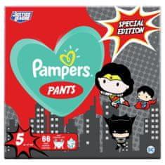 Pampers Plenkové Kalhotky Pants Velikost 5, 66 ks, 12-17 kg
