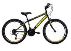 Capriolo Rapid 240 MTB 24/18HT gorsko kolo, črno-rumeno